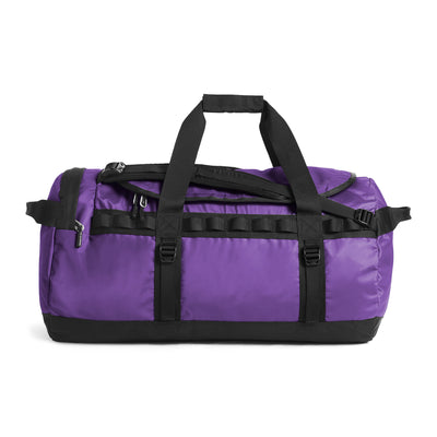 The North Face NF0A3ETP Base Camp Duffel Purple/Black front available at off the hook montreal