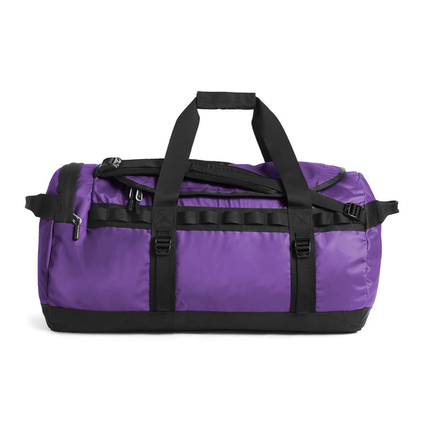The North Face NF0A3ETP Base Camp Duffel Purple / Black front disponible à off the hook montreal