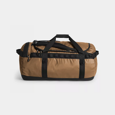 The North Face Base Camp Duffle - Brown / Black - Side - Off The Hook Montreal