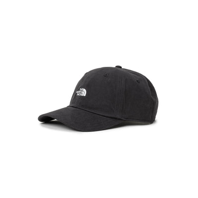 TNF Washed Norm Hat - Black - Front - Off The Hook Montreal #color_black