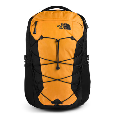 The North Face NF0A3KV3T6R Borealis Backpack Summit Gold Ripstop/Black front available at off the hook montreal