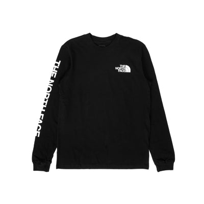 TNF Sleeve Hit LS - TNF Black - Front - Off The Hook Montreal #color_tnf-black