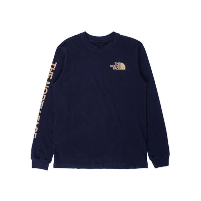 TNF Sleeve Hit LS - Aviator Navy - Front - Off The Hook Montreal #color_aviator-navy