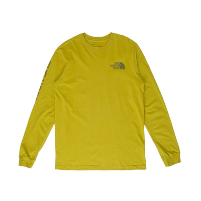 TNF Sleeve Hit LS - Matcha Green - Front - Off The Hook Montreal #color_matcha-green