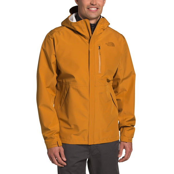The North Face NF0A4AHMHBX Dryzzle Futurelight Jacket Citrine Yellow front available at off the hook montreal