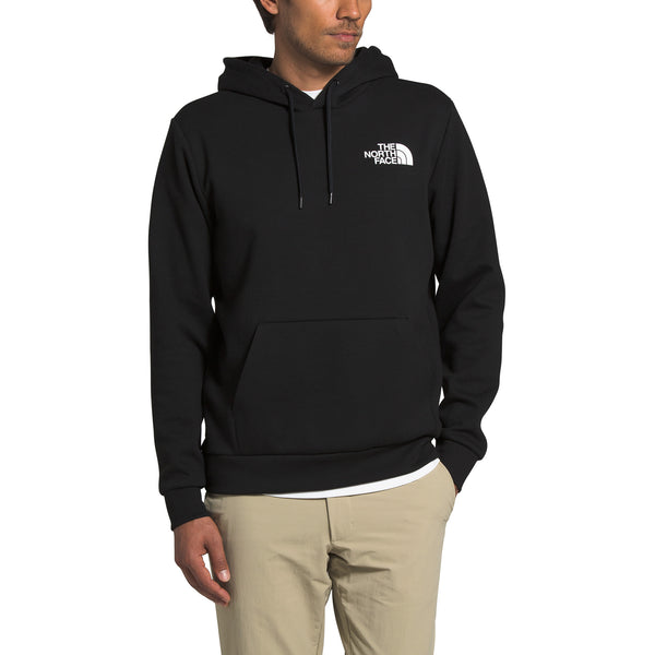 The North Face NF0A4N6C Explorer Pullover Hoodie Black front disponible à off the hook montreal