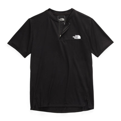 The North Face NF0AQOT Active Trail Polo Black front available at off the hook montreal
