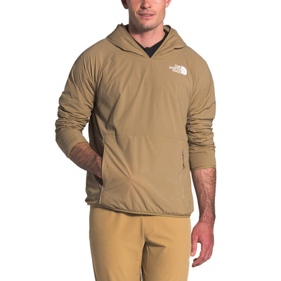 The North Face NF0Ar79 Active Trail Insulated Pullover Khaki front available at off the hook montreal