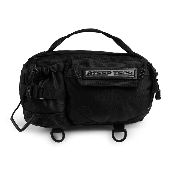 The North Face NF0A4SJ4 Steep Tech Fanny Pack Black front disponible à off the hook montreal