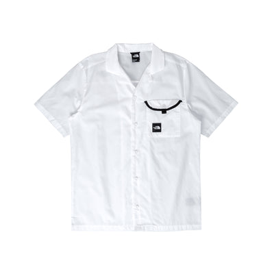 NF0A4T23FN4 Black Box Shirt - front - available at off the hook montreal #color_white