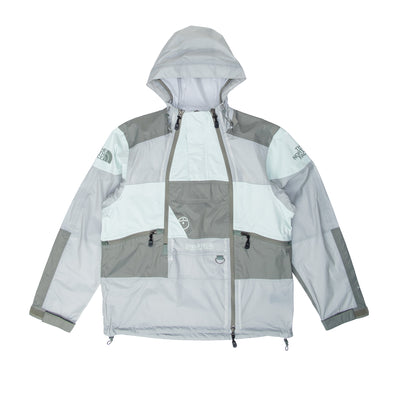 NF0A52ZW00L Steep Tech Light Rain Jacket - front - available at off the hook montreal #color_wrought_iron_green