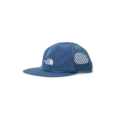 TNF Runner Mesh Cap - Monterey Blue - Front - Off The Hook Montreal #color_monterey-blue