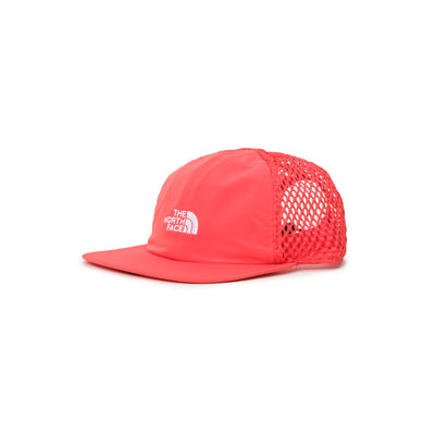 TNF Runner Mesh Cap - Horizon Red - Front - Off The Hook Montreal #color_horizon-red