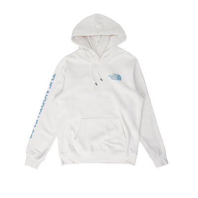 TNF New Sleeve Hoodie - Vintage White - Front - Off The Hook Montreal #color_vintage-white
