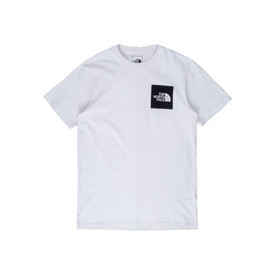 NF0A55UX9B8 TNF Fine Short Sleeve Tee - front - available at off the hook montreal #color_tin-grey