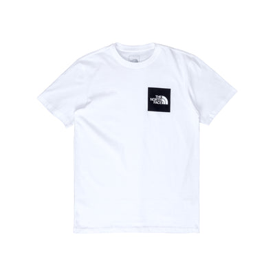 NF0A55UXFN4 TNF Fine Short Sleeve Tee - front - available at off the hook montreal #color_white