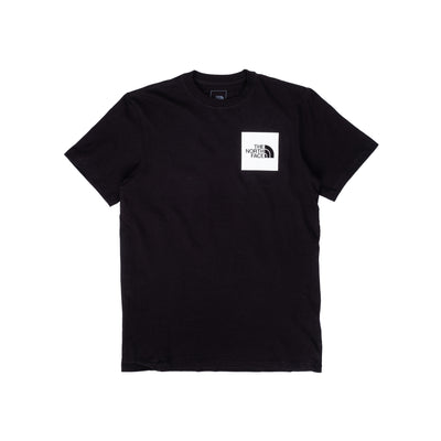 NF0A55UXJK3 TNF Fine Short Sleeve Tee - front - available at off the hook montreal #color_black