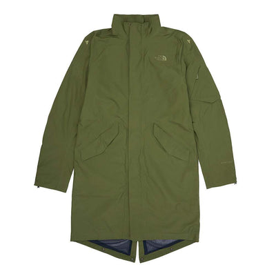 TNF Gore-Tex Coat - Leaf Clover - Front - Off The Hook Montreal