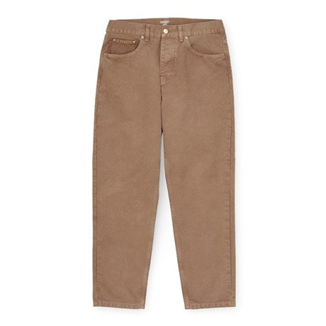 Carhartt WIP Newel Pant Hamilton Brown front available at off the hook montreal