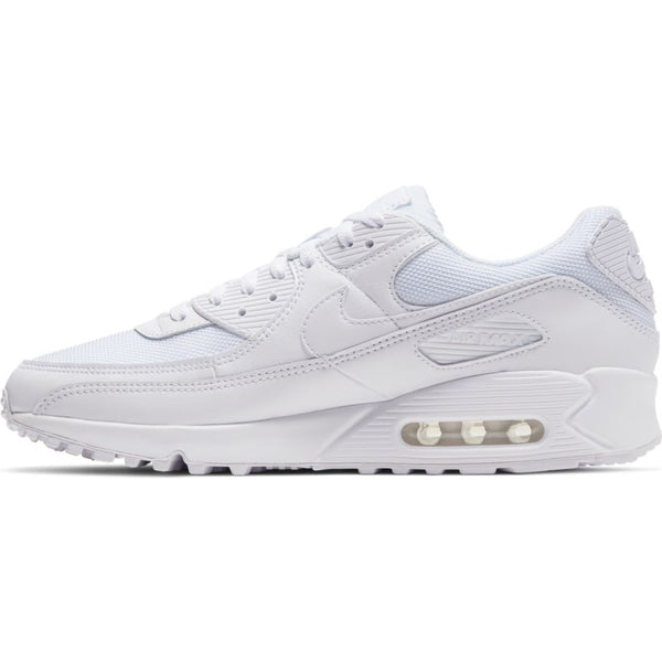Nike Air Max 90 White/Grey left shoe available at off the hook montreal