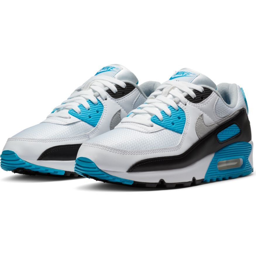 Nike Air Max III White/Black-Grey Fog-Laser Blue front available at off the hook montreal