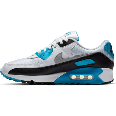 Nike Air Max III White/Black-Grey Fog-Laser Blue left available at off the hook montreal