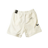 Nike Sportswear Swoosh French Terry Shorts White/Black