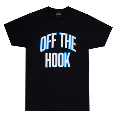 OTH Varisty T-Shirt - Black - Front - Off The Hook Montreal