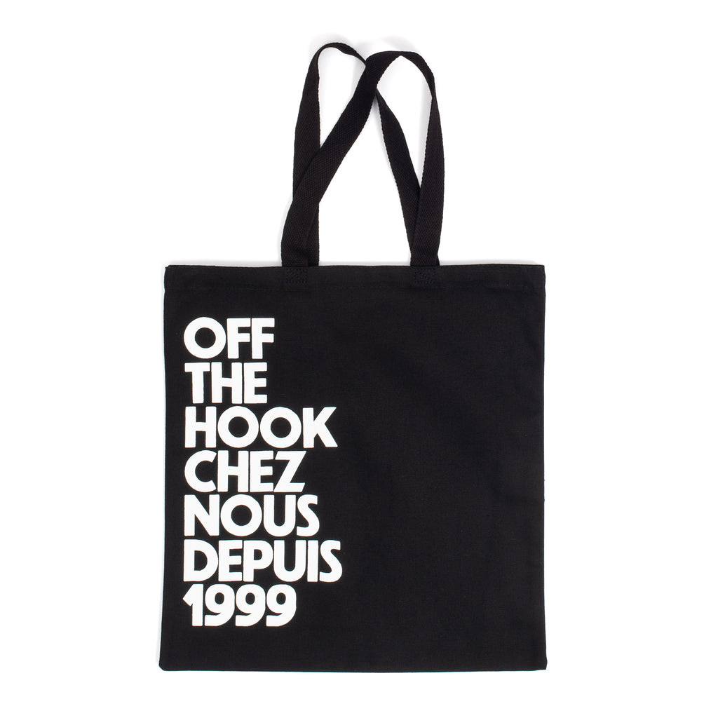 by OTH OTHTOTECN01-BLK-O / S OTH Chez Nous Tote Bag Black O / S - devant - disponible à off the hook montreal