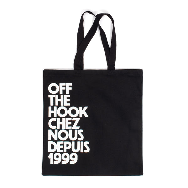 by OTH OTHTOTECN01-BLK-O/S OTH Chez Nous Tote Bag Black O/S - front - available at off the hook montreal