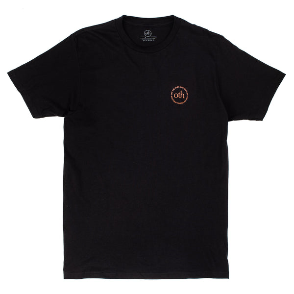 OTH 3.0 T-Shirt Black / Brown