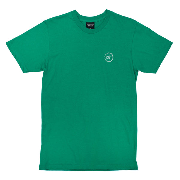 by OTH OTH3P0-KGRN OTH 3.0 Logo T-Shirt Kelly Green - front view - available at off the hook montreal