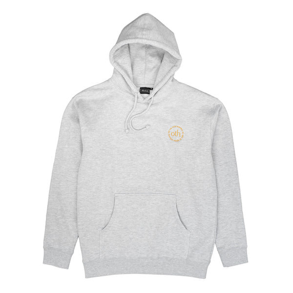 by OTH  OTH3.0HOOD-AGRY OTH 3.0 Hoodie Ash Grey - front view - available at off the hook montreal