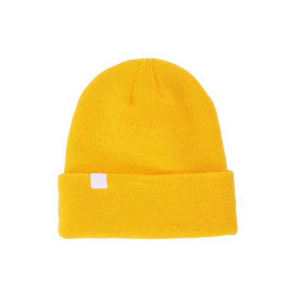 by OTH HABITANT2-YEL-O/S 50-50 Merino Wool Habitant Beanie Yellow - available at off the hook montreal