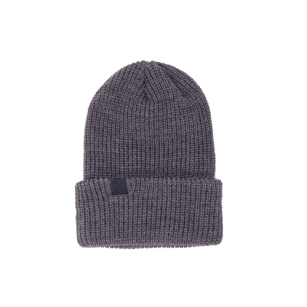 OTHVEZBEAN-CHR-O/S 100% Acrylic Vézina Beanie Charcoal - front - available at off the hook montreal