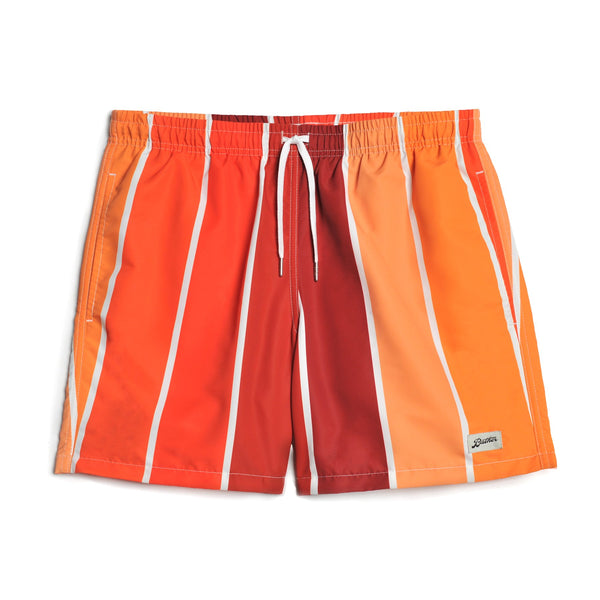 Bather R450-ORG Orange Gradient Swim Trunk - front - available at off the hook montreal