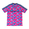 Adidas x Pharrell Human Race Jersey - Real Magenta / True Blue - Front - Off The Hook Montreal