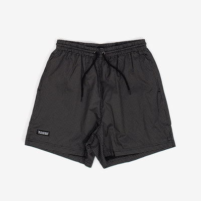 Pleasures Brick Active Shorts - Black - Front - Off The Hook Montreal