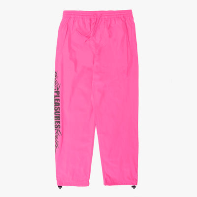 Pleasures Reservoir Track Pant - Hot Pink - Front - Off The Hook Montreal #color_hot-pink