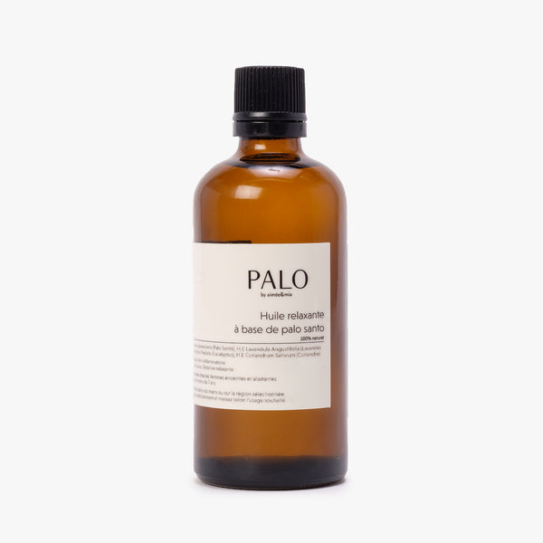 PalobyAimee Body Relaxing Oil 100mL - Front - Off The Hook Montreal