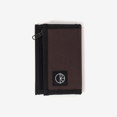 Polar Skate Cordura Key Wallet - Brown - Front - Off The Hook Montreal