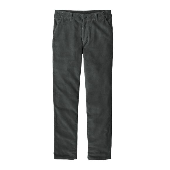 Patagonia  56606 M Kalorama Corduroy Pants Grey front available at off the hook montreal