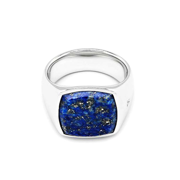 Cushion Blue Lapis Ring