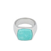Cushion Turquoise Ring