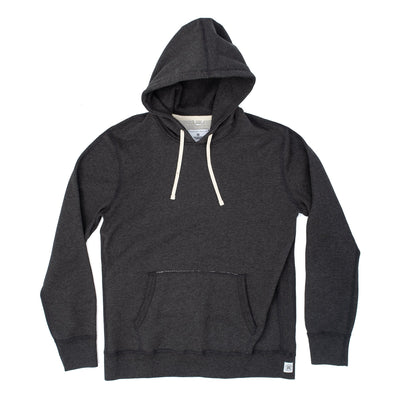 Reigning champ RC-3206 Knit Midweight Terry Pullover Hoodie - front - available at off the hook montreal #color_charcoal