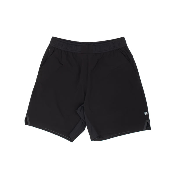 A versatile training short designed for movement. Made with DWR 4-way stretch fabric and a breathable moisture wicking waistband.