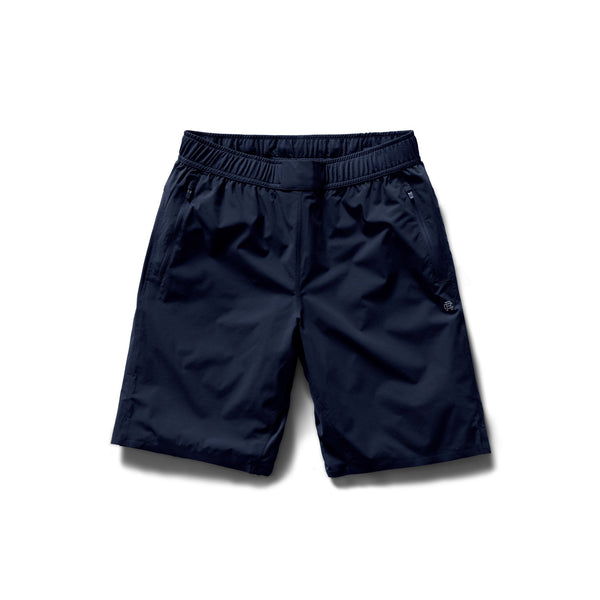 "Reigning Champ RC-5211 Woven 9"" Training Short - front - available at off the hook montreal"