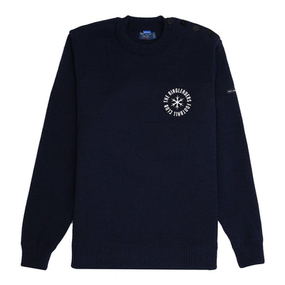 Ringleaders Meme Pas Peur Premium Crewneck - Navy - Front - Off The Hook Montreal