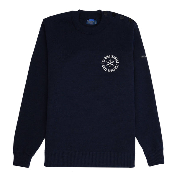 75% Cotton / 25% Polyester blend 14 oz Silkscreen Product code: FER007 Même Pas Peur Replica Crewneck Navy off the hook oth streetwear boutique canada montreal football soccer Même Pas Peur Replica Crewneck Navy ringleaders