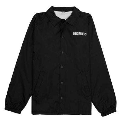 Ringleaders RFC Coach Jacket - Black - Front - Off The Hook Montreal